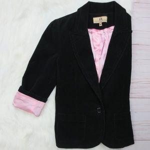 Juicy Couture NWOT {Black} Corduroy Blazer